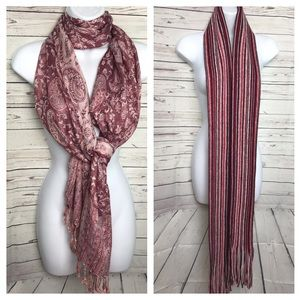 Scarves no name or Tag!